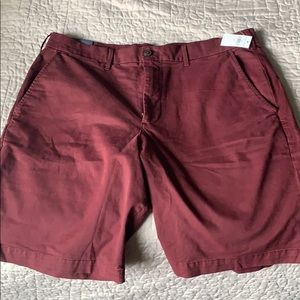 Deep red men's shorts